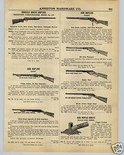 1942 PAPER AD Daisy Air Rifle BB Gun Buck Jones Red Ryder Pump Action Repeater
