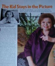 Shirley Temple 8 pc German Clippings Collection Full Page US