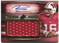 2012 SPx Russell Wilson Rookie Patch Autograph Jersey Auto #/399 Seahawks 🏈
