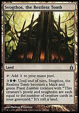 4X Svogthos, the Restless Tomb - LP - Old Ravnica Magic Cards Land Uncommon