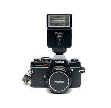Konica Autoreflex TC 35mm film SLR w/ Hexanon AR 40mm f/1.8 lens READ