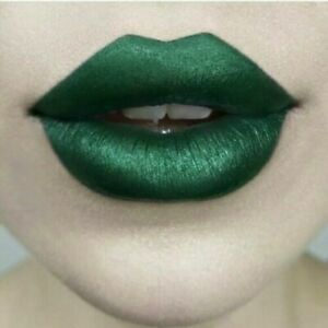 KVD Lipstick Plan 9 (Satin Seafoam Green) Kat Von D Studded Kiss Creme BNIB