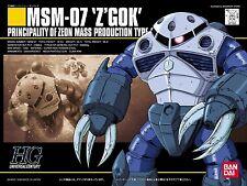 BANDAI HGUC 1/144 MSM-07 Z'GOK Plastic Model Kit Mobile Suit Gundam from Japan