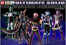 Masked Kamen Rider Ultimate Solid Dark Heroes Set (Total 5) Vol.1
