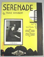 Serenade by Frank Schubert - Lyric by Jerry Castillo - 1935