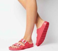 Sandali e scarpe rossi Birkenstock per il mare da donna
