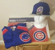 Chicago Cubs MLB Nike Classic Blue Team Logo Youth XL Jersey & Cap Set