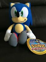 Sonic the Hedgehog Plush Doll Stuffed Animal Toy Large 12 in Authentic SEGA NWT!