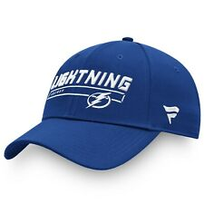 Tampa Bay Lightning Fanatics Brand Blue Authentic Pro Rinkside Adjustable hat