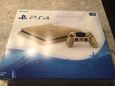 Sony PlayStation 4 Slim Limited Edition 1TB Gold Console