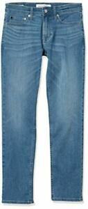 Calvin Klein Men's Slim Fit Jeans, Astor Place Stretch, 33W x 32L