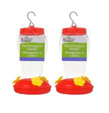 2x ($4.99) Garden Collection Plastic Hanging Hummingbird Feeders 6.75 in