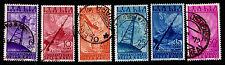 1947 ITALY #C116-121 AIRMAIL - WMK 277 - MOSTLY USED - VF - CV$9.30 (ESP#1457)