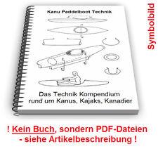 Kajak selbst bauen - Paddelboot Kanu Kanadier Paddel Technik Patente