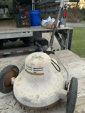 VINTAGE RUMSEY ELECTRIC LAWN MOWER - WORKING
