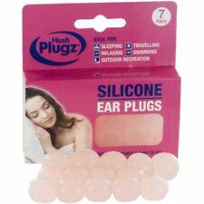 Hush Plugz Silicone Earplugs - 7 Pairs
