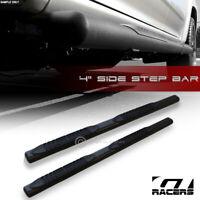 """For 2005-2012 Pathfinder 4"""" Matte Black Oval Side Step Nerf Bars Running Boards"""
