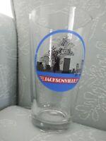 Anheuser Busch Jacksonville, Beer Pint Glass, Skyline & Logo