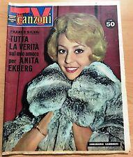 SERIE SORRISI E CANZONI  ANNO X  N° 48 1961 ANNAMARIA GAMBINERI ORIGINALE !!!!