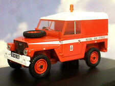 OXFORD DCST 1/43 MILITARY LAND ROVER 1/2 TON LIGHTWEIGHT RAF RED ARROWS 43LRL003