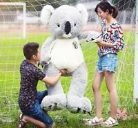 75cm Giant Koala PP Cotton Plush Soft Stuffed Toy Pillow Doll Animal Kids Gift