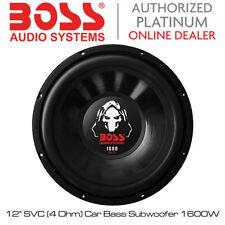 "Jefe de AUDIO serie fantasma - 12"" SVC (4 Ohm Subwoofer Bass) 1600W coche"