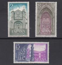 SPAIN (1972) MNH SC SCOTT 1738/40 ST. TOMAS MONASTERY