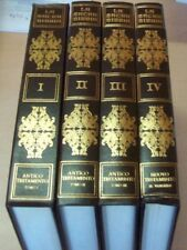 LA SACRA BIBBIA - 4 TOMI del Monsignor - ANTONIO MARTINI - Tavole di : G. DORE'