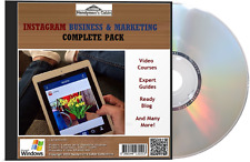 INSTAGRAM Business And Marketing Complete Pack DVD - Video,  Guides & More!
