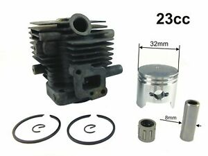 CYLINDER & PISTON KIT 23CC HT2300 CHINESE HEDGE TRIMMER NEW
