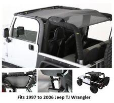 Smittybilt Extended Black Mesh Top for 97-06 Jeep TJ Wrangler