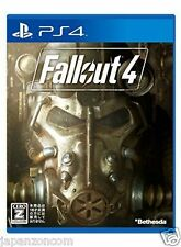 Used PS4 Fallout 4  SONY PLAYSTATION 4  JAPANESE JAPONAIS IMPORT