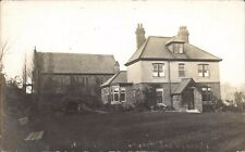 Pleasley Hill near Mansfield. Church & Vicarage.