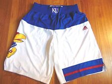 ADIDAS AUTHENTIC NCAA KANSAS JAYHAWKS BASKETBALL GAME SHORTS M+2""