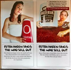 Petra Haden - Petra Haden Sings: The Who Sell Out. 2016 US LP Sealed.