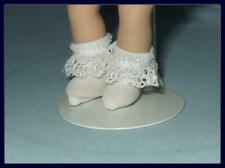 "Lace Trim Ankle SOCKS Anklets fit 5.5"" MINI GINNY 6"" Chelsea Puki Puki"