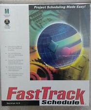 FastTrack Schedule Ver 6, MAC project scheduling timeline presentation gantt