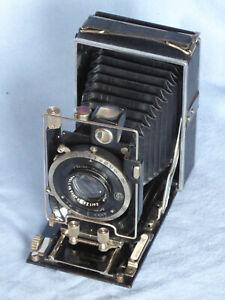 Bentzin Primar Plattenkamera 6x9 Tessar 1:4,5 in Compur