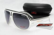 New Fashion Men & Women's Retro Sunglasses Unisex Glasses White Frame With Box