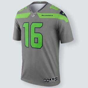 Seattle Seahawks Tyler Lockett #16 Nike Men's Steel NFL Inverted Legend Jersey L