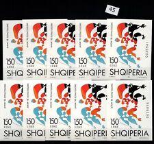 / 10X ALBANIA - MNH - EUROPA CEPT 1998 - FOLKLORE