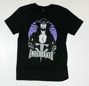 WWE Official The Undertaker Black T-Shirt New! (3G2