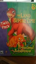 The Land Before Time Preschool Adventure TWIN PACK Ages 3-5 PC GAME