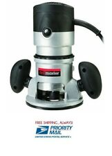 2 HP 28,000 RPM 120 Volt Fixed Base Router For Clean Cuts Cabinets Wood Etc!