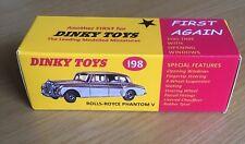 Dinky 198 Rolls-Royce Phantom V Empty Repro Box Only