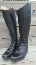 Riding Leather Boots Equestrian Show Jumping Derby Netherlands EU Size 39 US 9