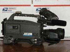 Panasonic AJ-D700P TESTED! with Canon YH18 Lens and Porta Brace Carry Bag NICE!
