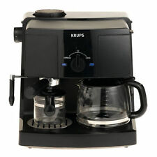 Krups XP1500 10 Cups Coffee And Espresso Maker - Black