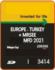Ford MFD 2021 V11 SD Karte Navi B-Max C-Max Focus Transit Kuga Navigation Sony