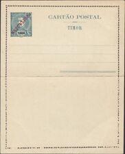 TIMOR, 1912. Letter Card H&G 10, Mint